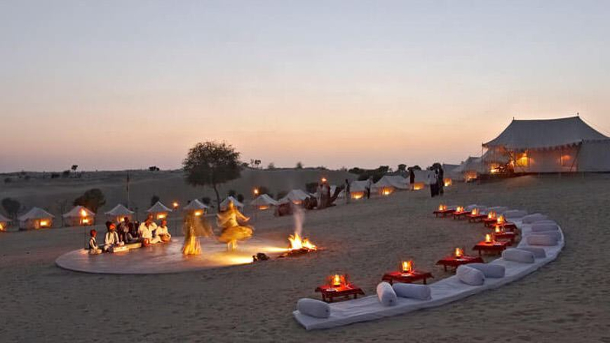Activities in Thar Desert while Camping