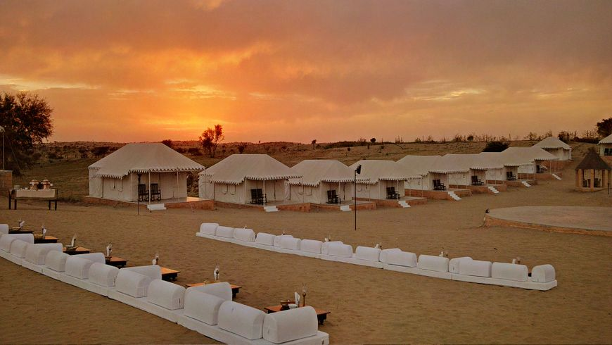 Best Desert Camp in Jaisalmer