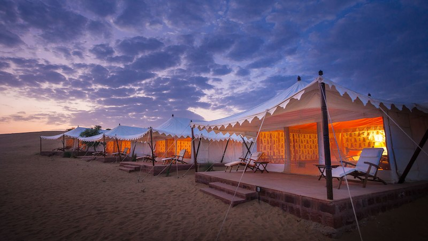 Tent Stay in Jaisalmer