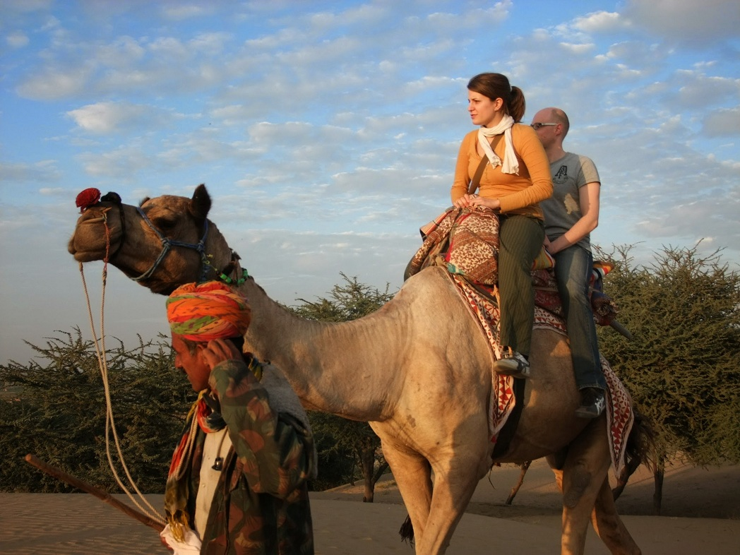 Camel Ride in Jodhpur
